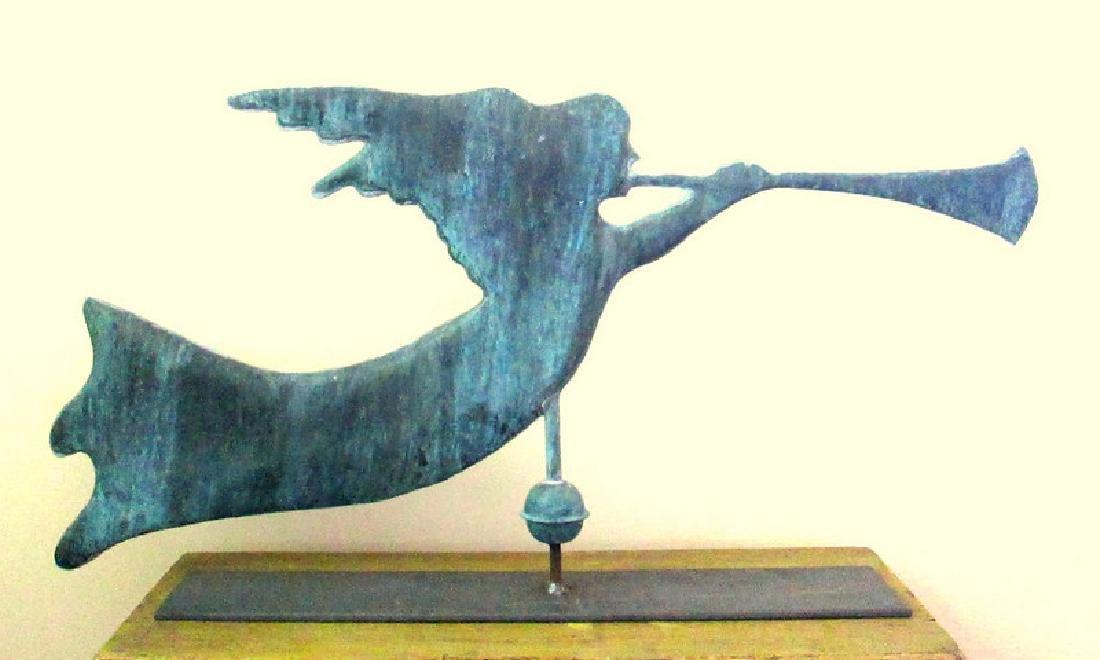 Gabriel Blowing Horn Weathervane 1940