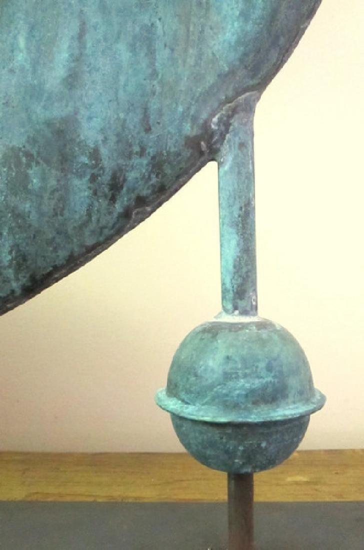 Gabriel Blowing Horn Weathervane 1940 - 8