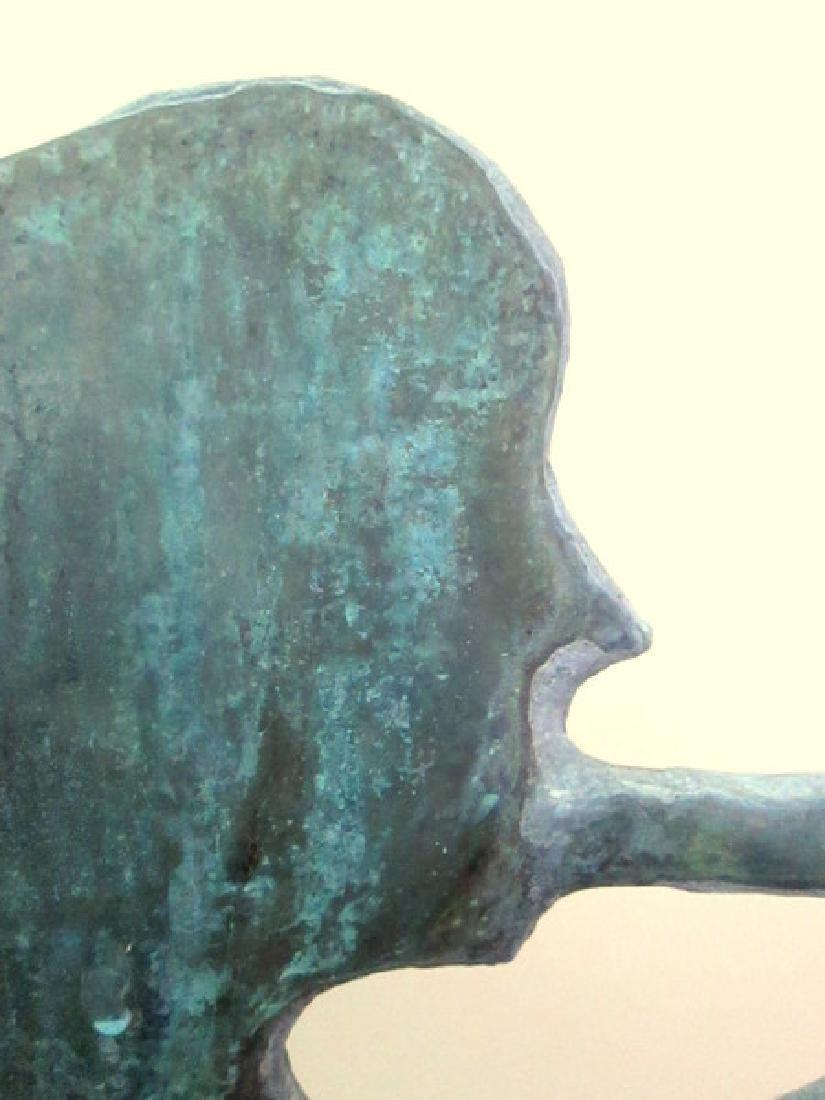 Gabriel Blowing Horn Weathervane 1940 - 9