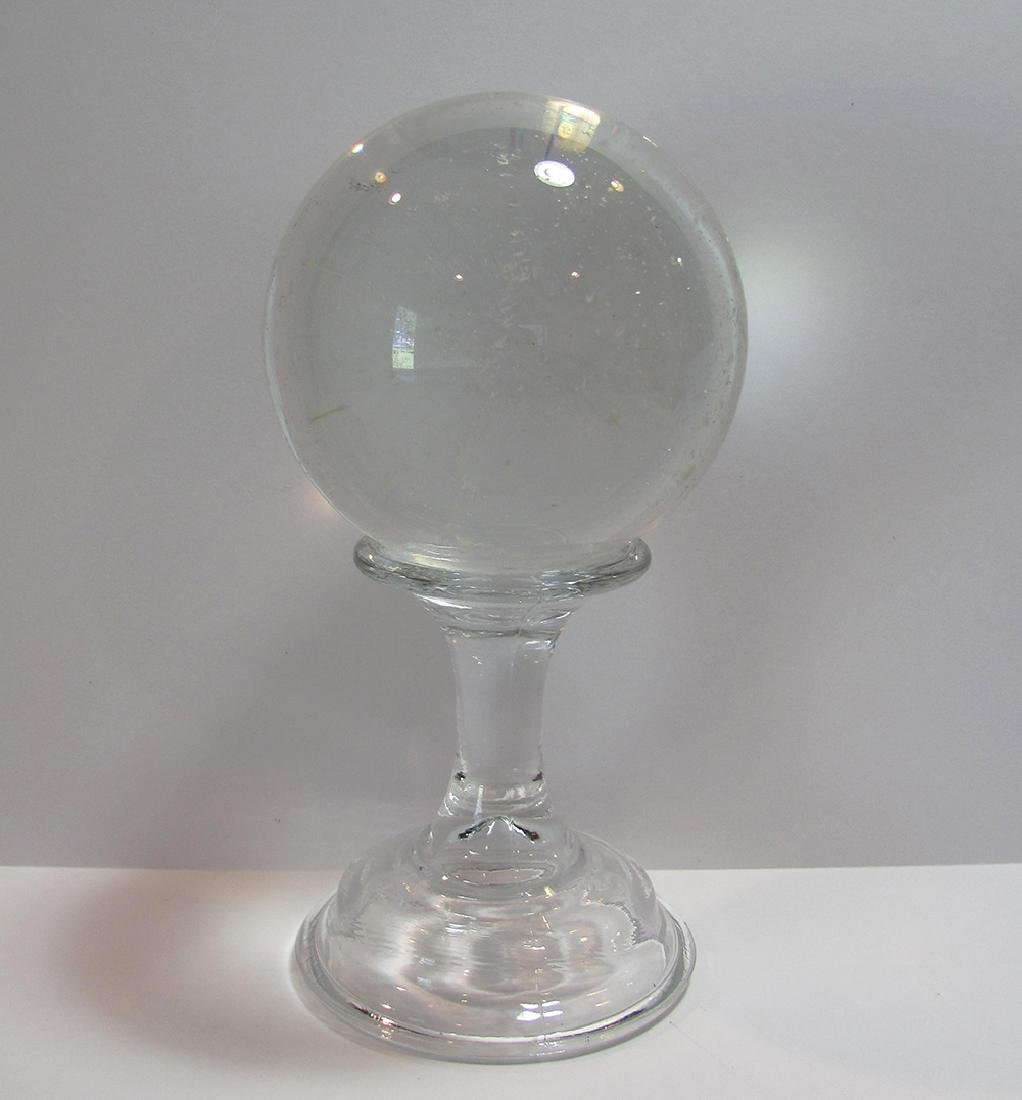 Early 20th Century Hand Made Glass Ball