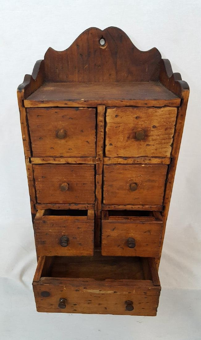 Pine Set of Spice Drawers 1900 - 3