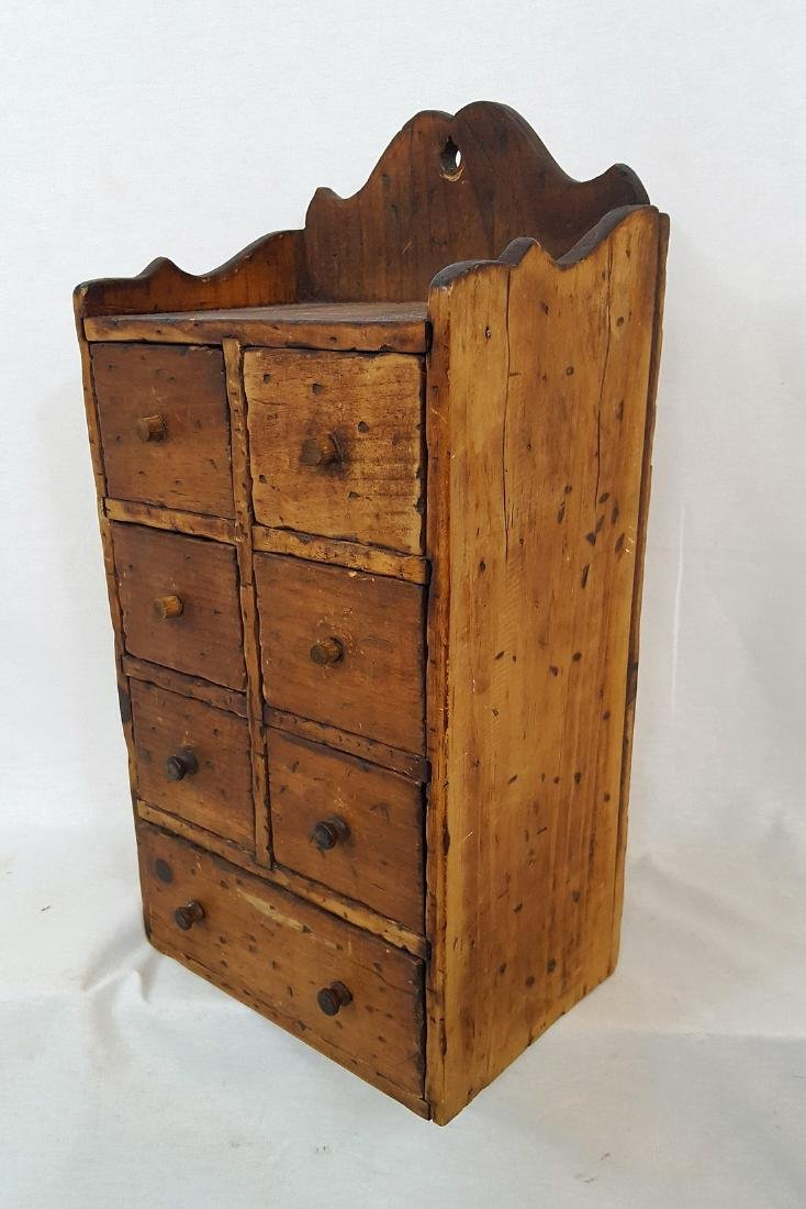 Pine Set of Spice Drawers 1900 - 4