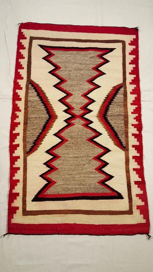 Navajo Ganado Woven Rug 1930's - 2