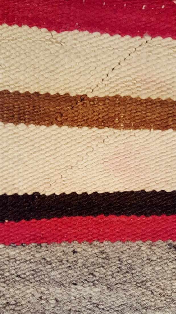 Navajo Ganado Woven Rug 1930's - 3