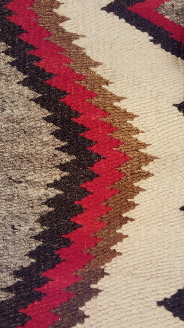 Navajo Ganado Woven Rug 1930's - 4