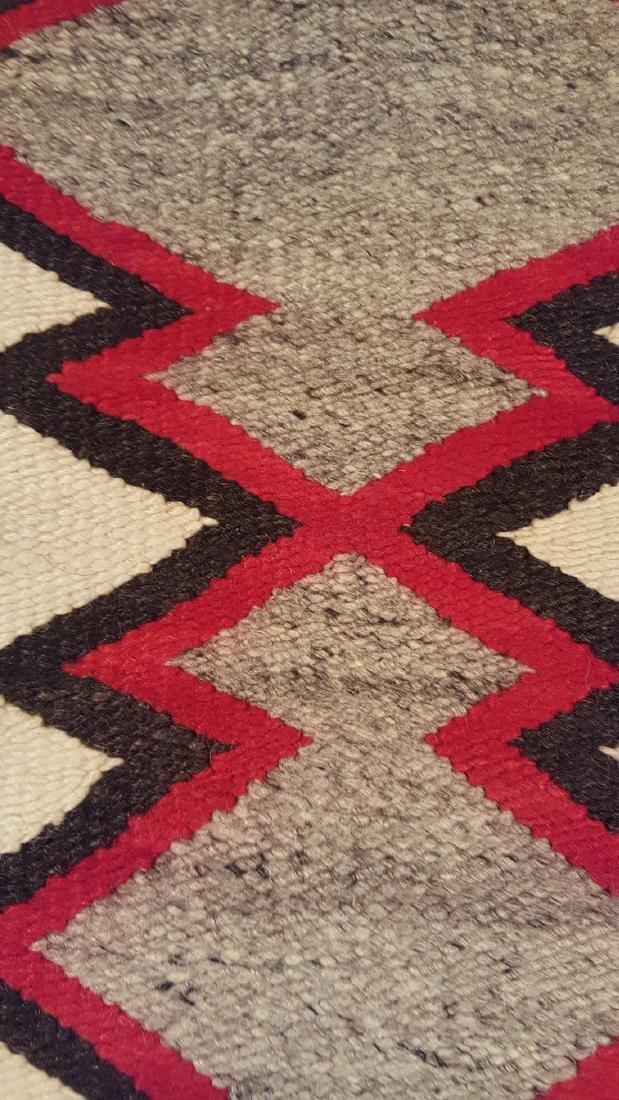 Navajo Ganado Woven Rug 1930's - 5