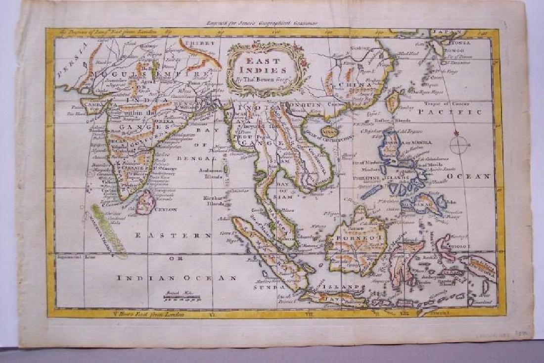 Bowen: Antique Map of East Indies, 1772 - 2