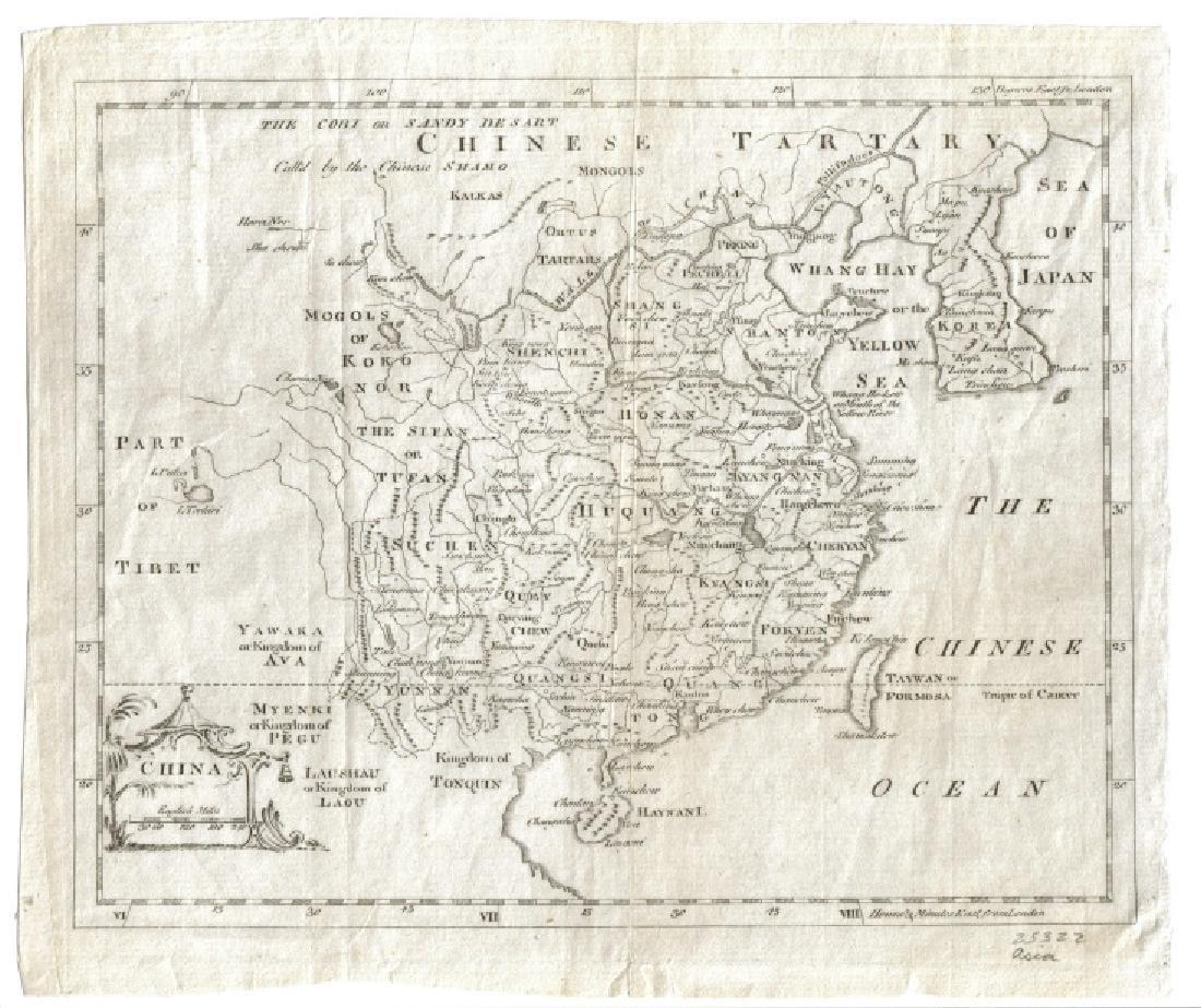 Jefferys: Antique Map of China, 1762 - 2