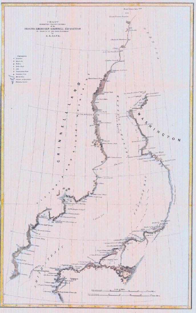 Antique Map of the Korean Peninsula, 1896 - 2