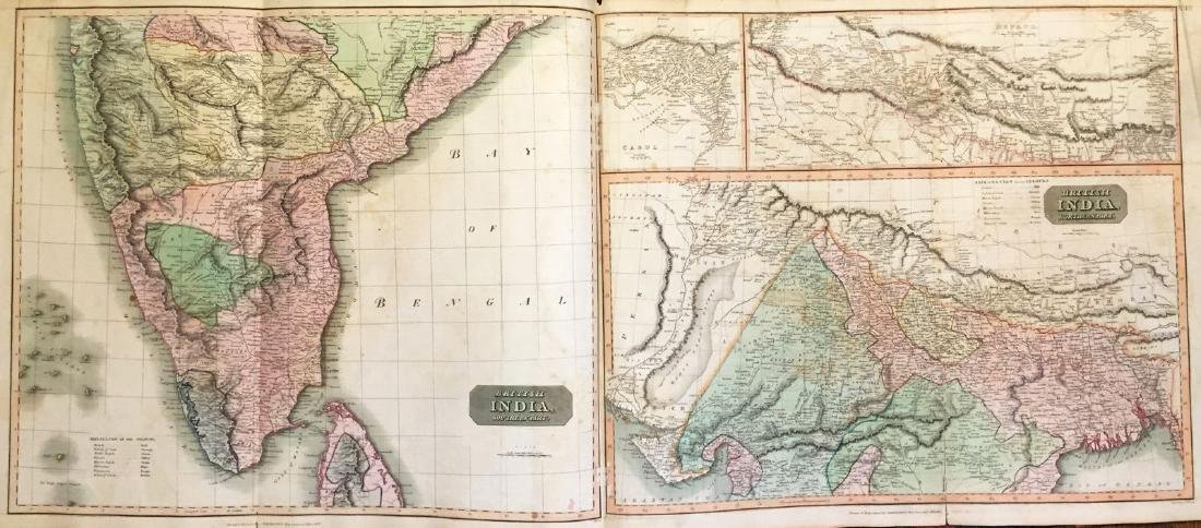 Thomson: Antique Map of British India, 1814