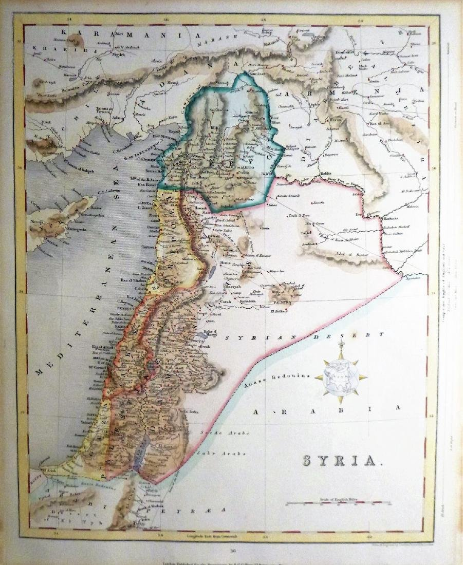 Joshua Archer: Antique Map of Syria