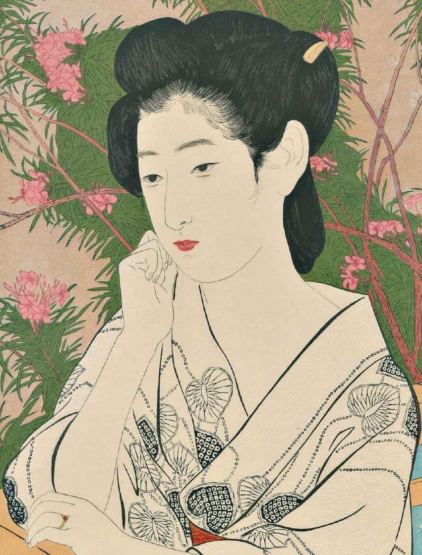 Goyo Hashiguchi Beauty Japanese Woodblock Print - 3