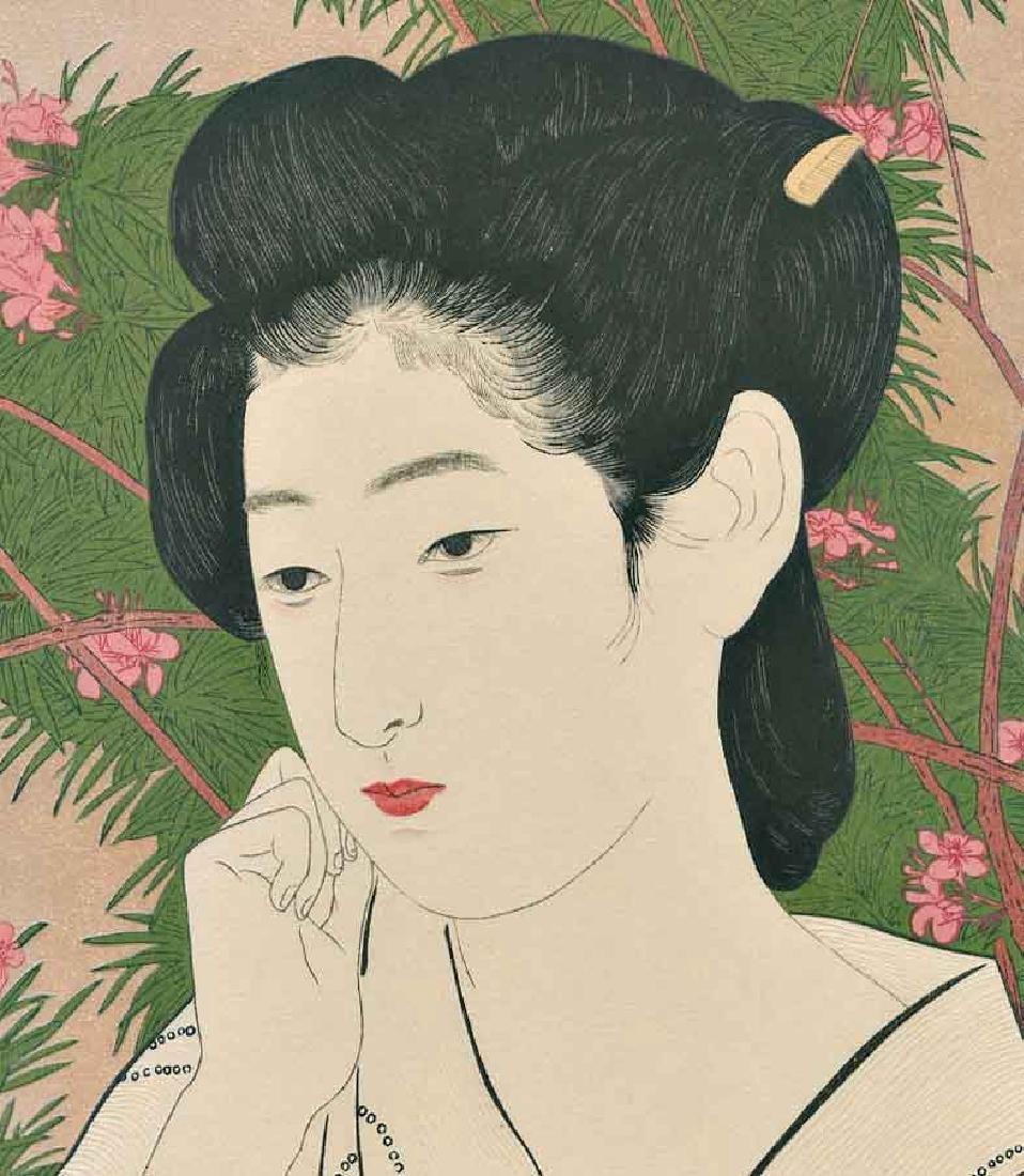 Goyo Hashiguchi Beauty Japanese Woodblock Print - 4