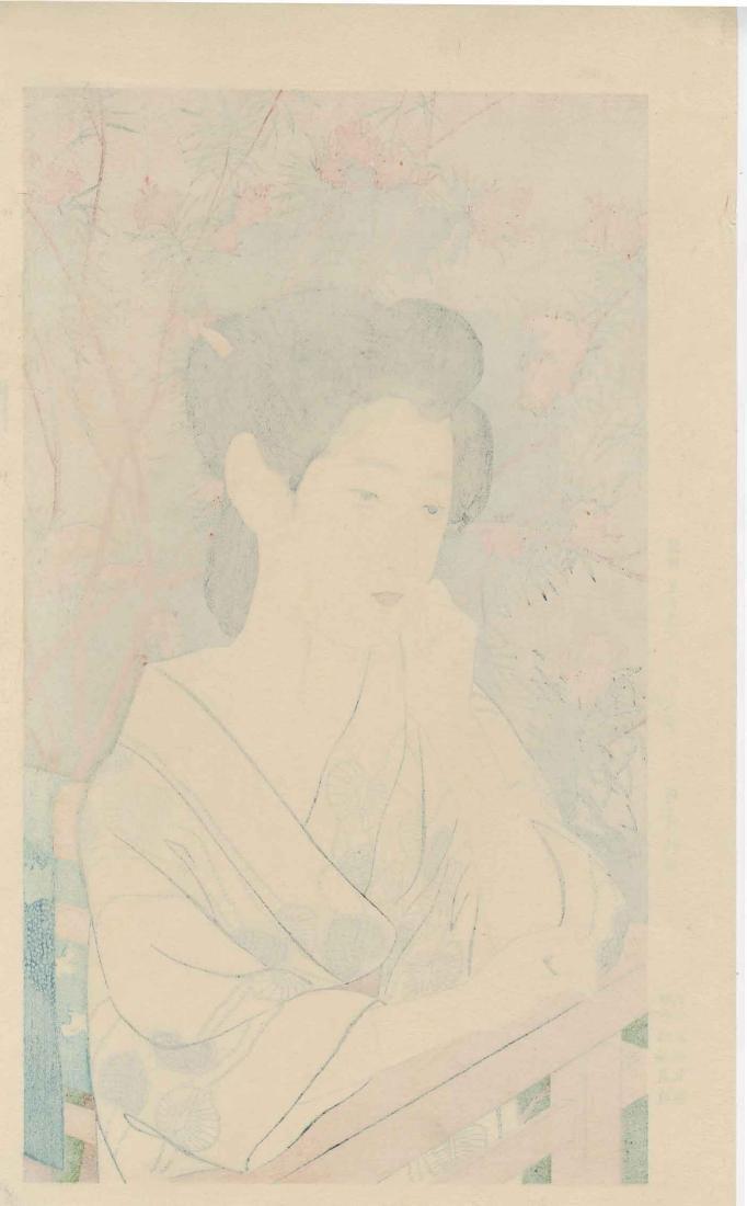 Goyo Hashiguchi Beauty Japanese Woodblock Print - 5