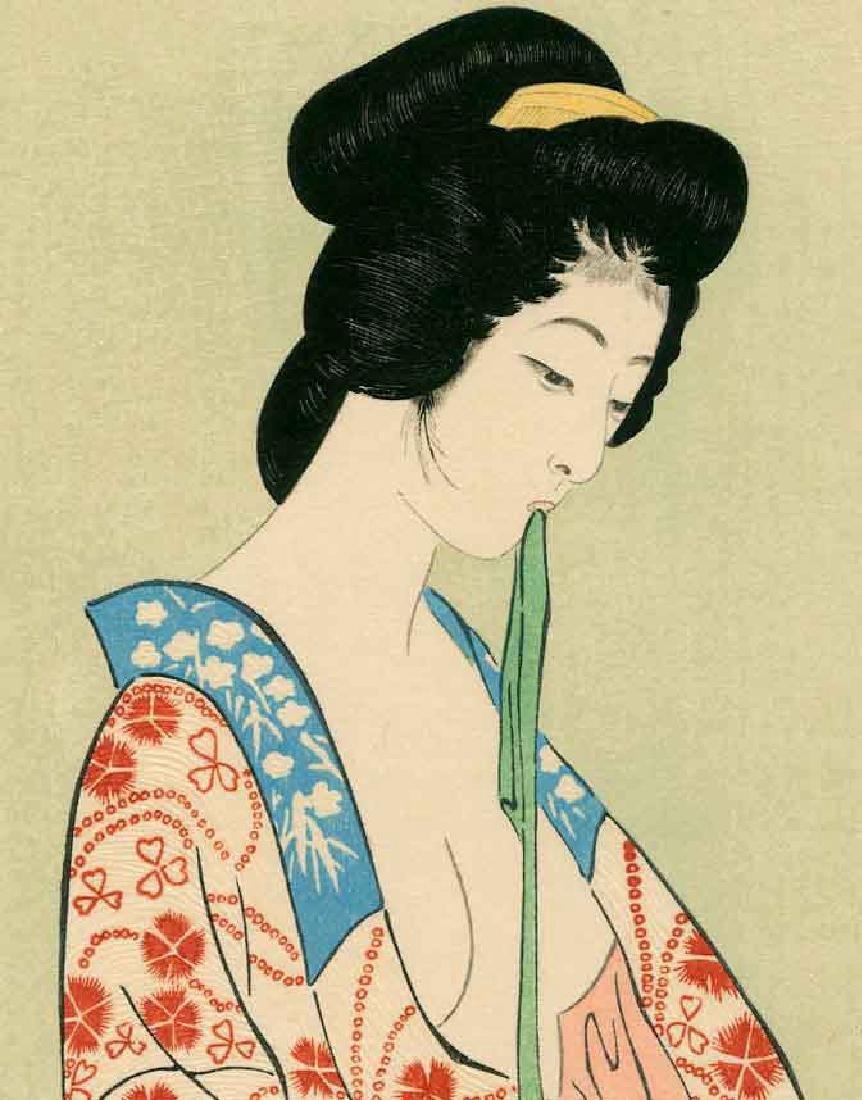Goyo Hashiguchi Beauty Japanese Woodblock Print - 8