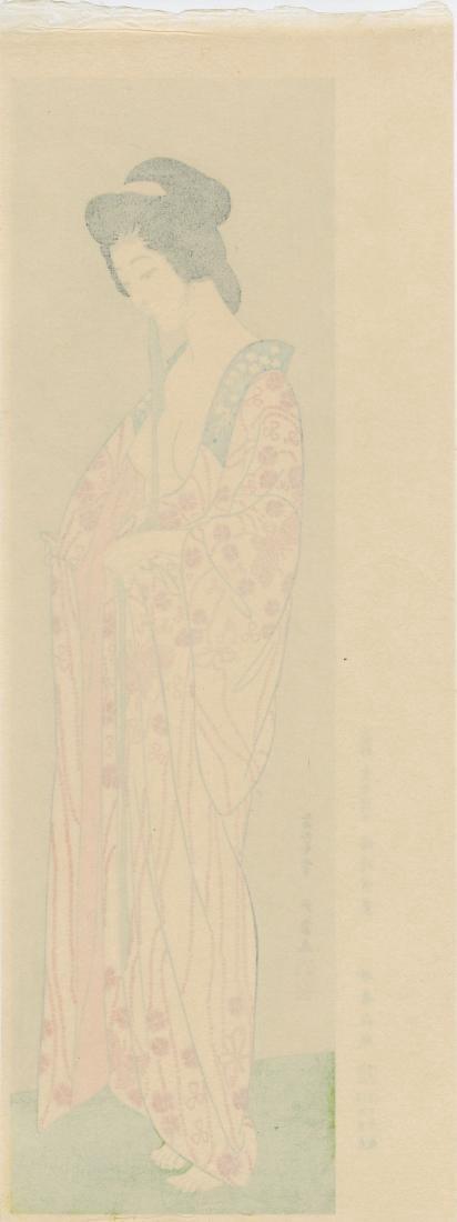Goyo Hashiguchi Beauty Japanese Woodblock Print - 9