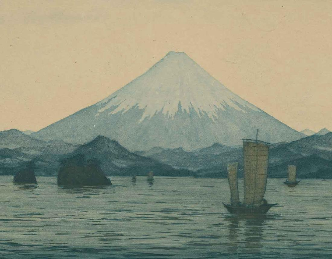 T. F. Simon Mount Fuji Etching - 3