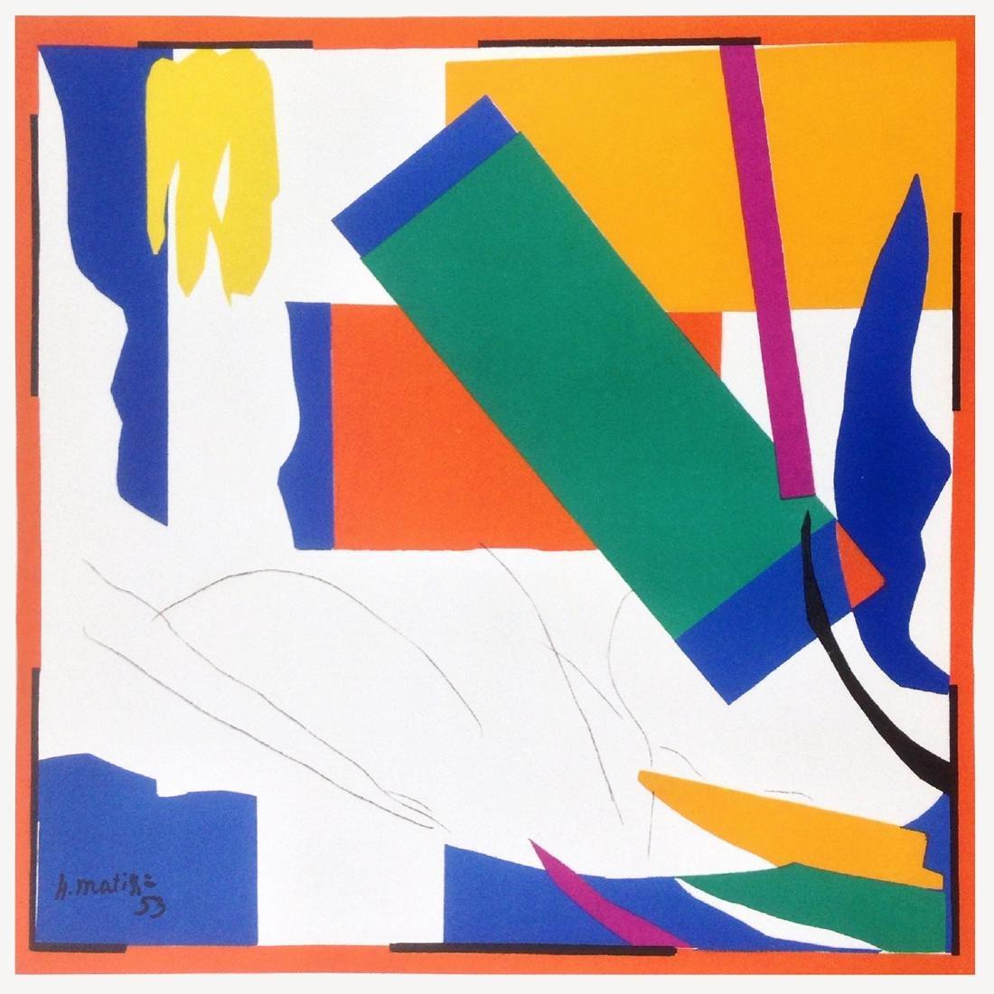 Henri Matisse Souvenir d'Oceanie Lithograph