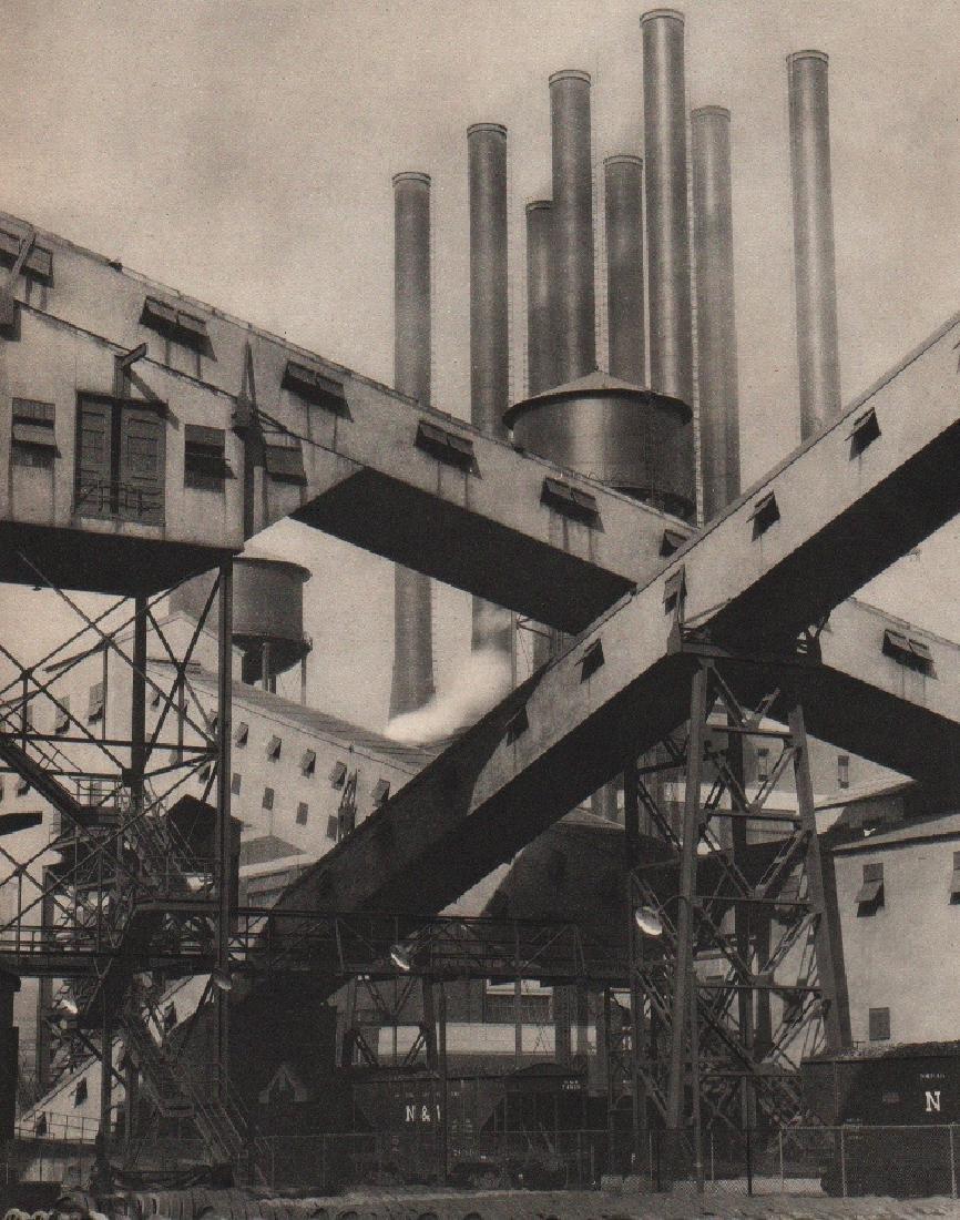 CHARLES SHEELER - River Rouge Plant, Ford Motor