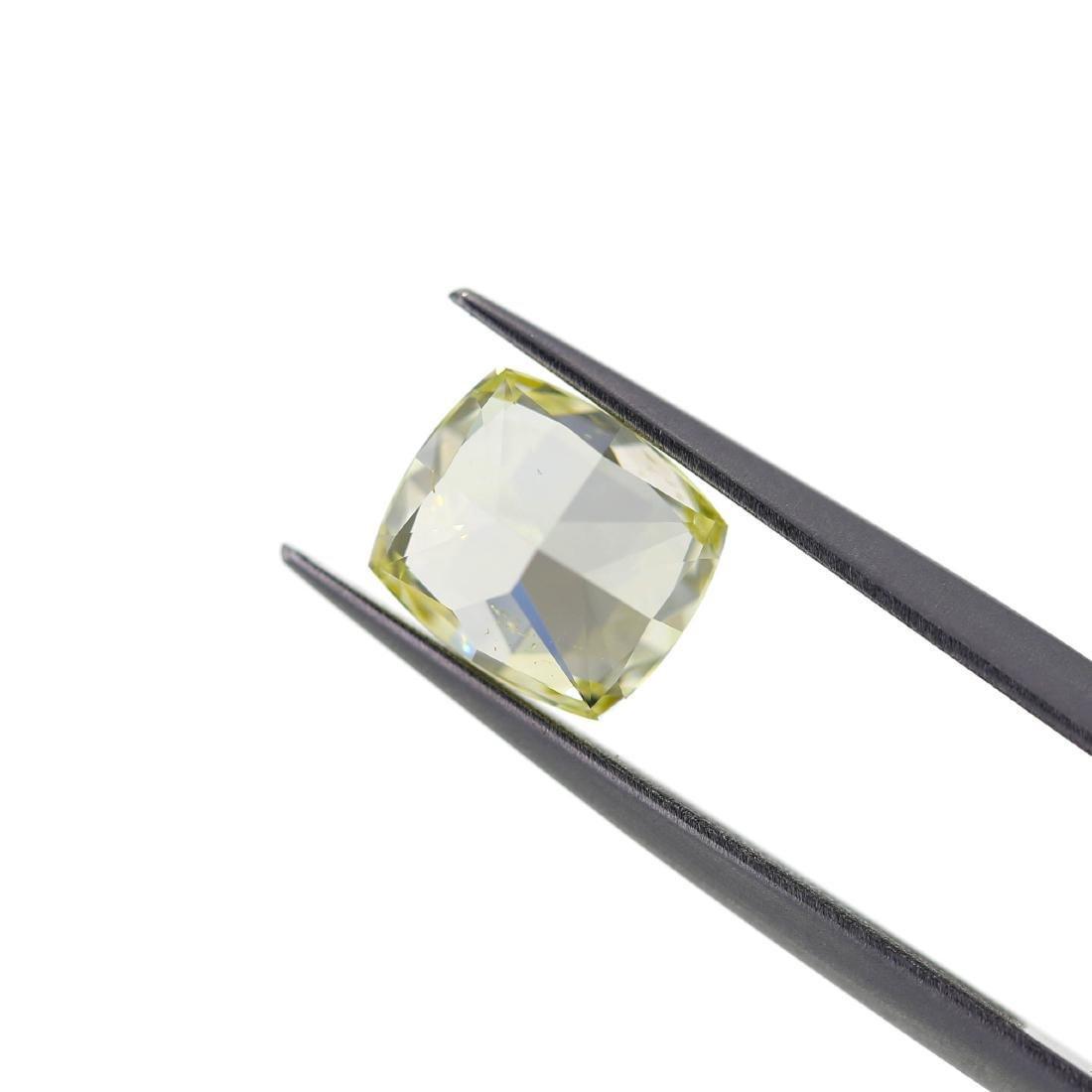 Loose Stone 2.01 ct Natural Fancy Yellow GIA Diamond - 2