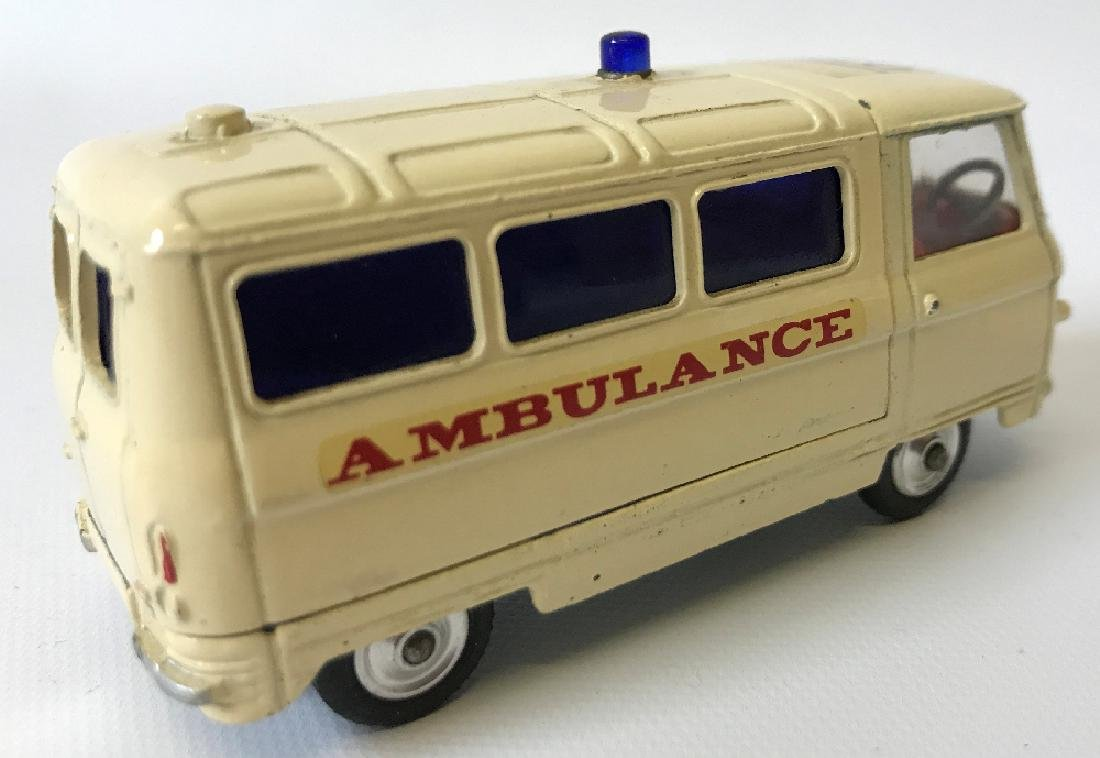 Vintage CORGI #463 COMMER 3/4 TON AMBULANCE Toy Car - 2