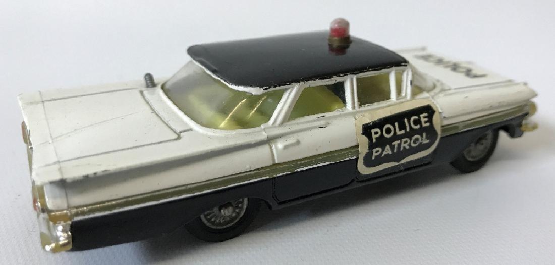 Vintage CORGI #481 POLICE PATROL CHEVROLET CHEVY IMPALA - 2