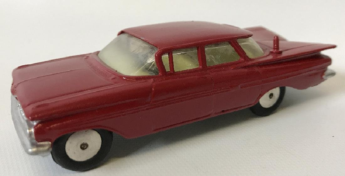 Vintage CORGI CHEVROLET CHEVY IMPALA Red Toy Car