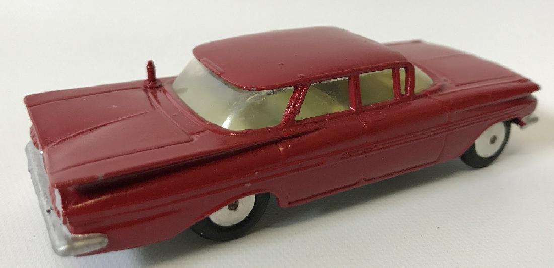 Vintage CORGI CHEVROLET CHEVY IMPALA Red Toy Car - 2