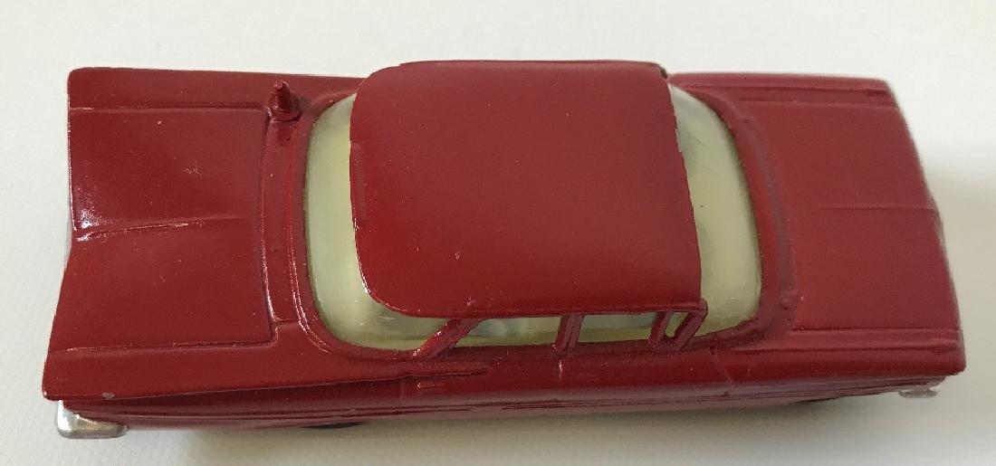 Vintage CORGI CHEVROLET CHEVY IMPALA Red Toy Car - 3