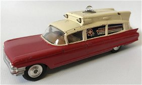 Vintage CORGI SUPERIOR AMBULANCE Cadilac Toy Car