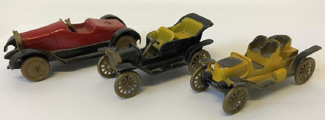 Lot of 3 Vintage TOOTSIETOY Classic Series Toy Cars