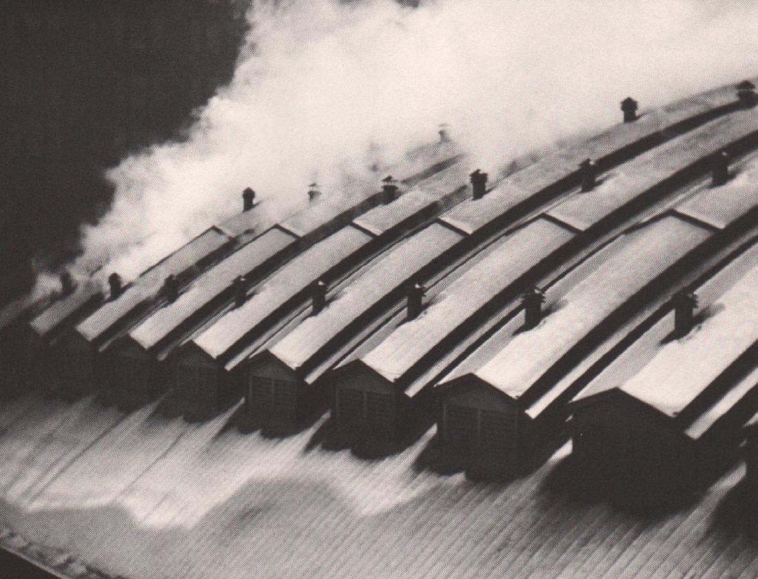 ALVIN LANGDON COBURN - Station Roofs