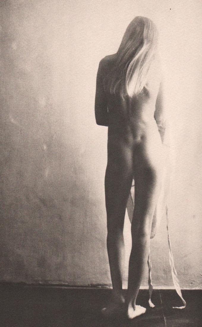 DAVID HAMILTON - Nude/Sailboat (Double sided printing)