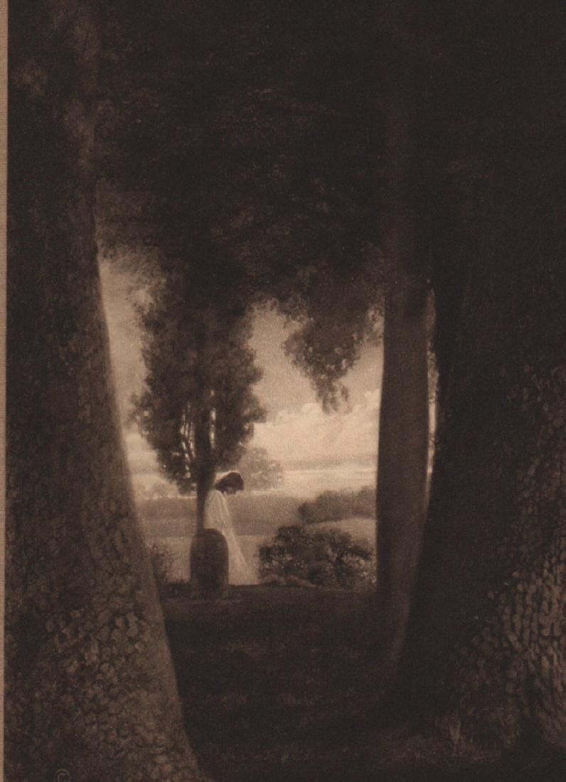 ADELAIDE HANSCOM (LEESON) - Woman under the Tree