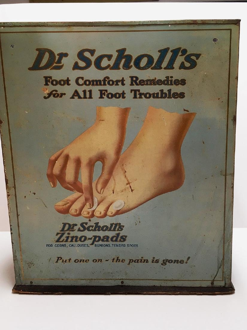 Dr Scholl's Store Advertising Display