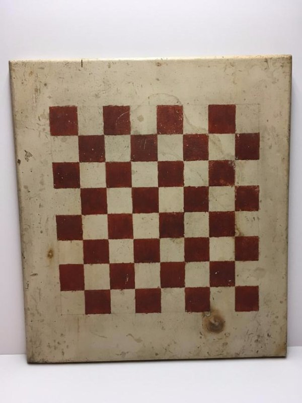 Country Painted Wooden Game Board