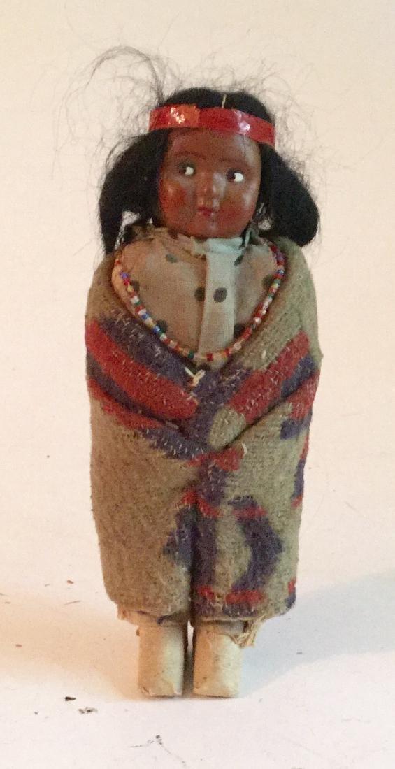 Old Skookum Indian Doll Signed