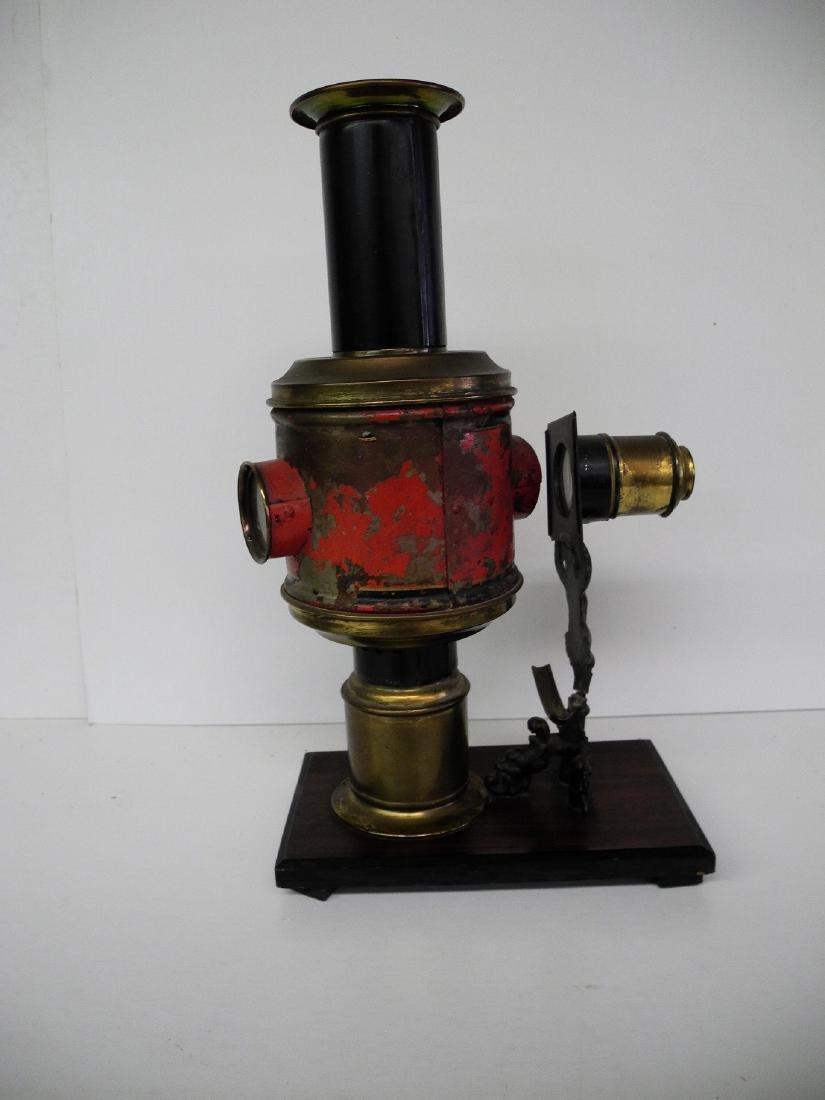 Kerosene Lighted Projector Artifact Magic Lantern