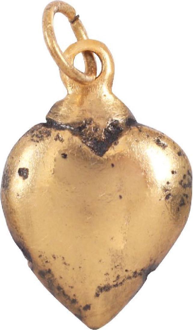 ANCIENT VIKING HEART PENDANT C.850-950 AD