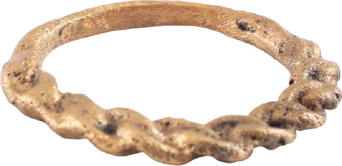 FINE ANCIENT VIKING WARRIOR'S RING C.900-1000 AD