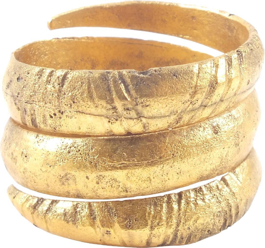 VIKING COIL RING C.850-1050 AD