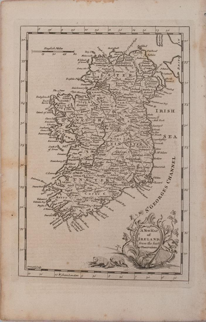 Prinald/Coote: Antique Map of Ireland, 1759