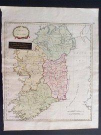 Stackhouse: Antique Map of Ireland, 1783