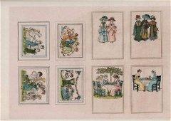 Kate Greenaway. Children's Processional & Victorian