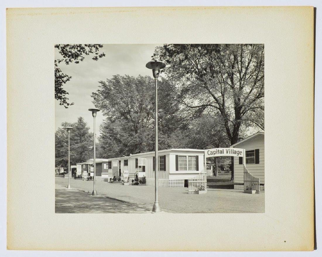 Vintage Art Photo Capital Industries Mobile Home