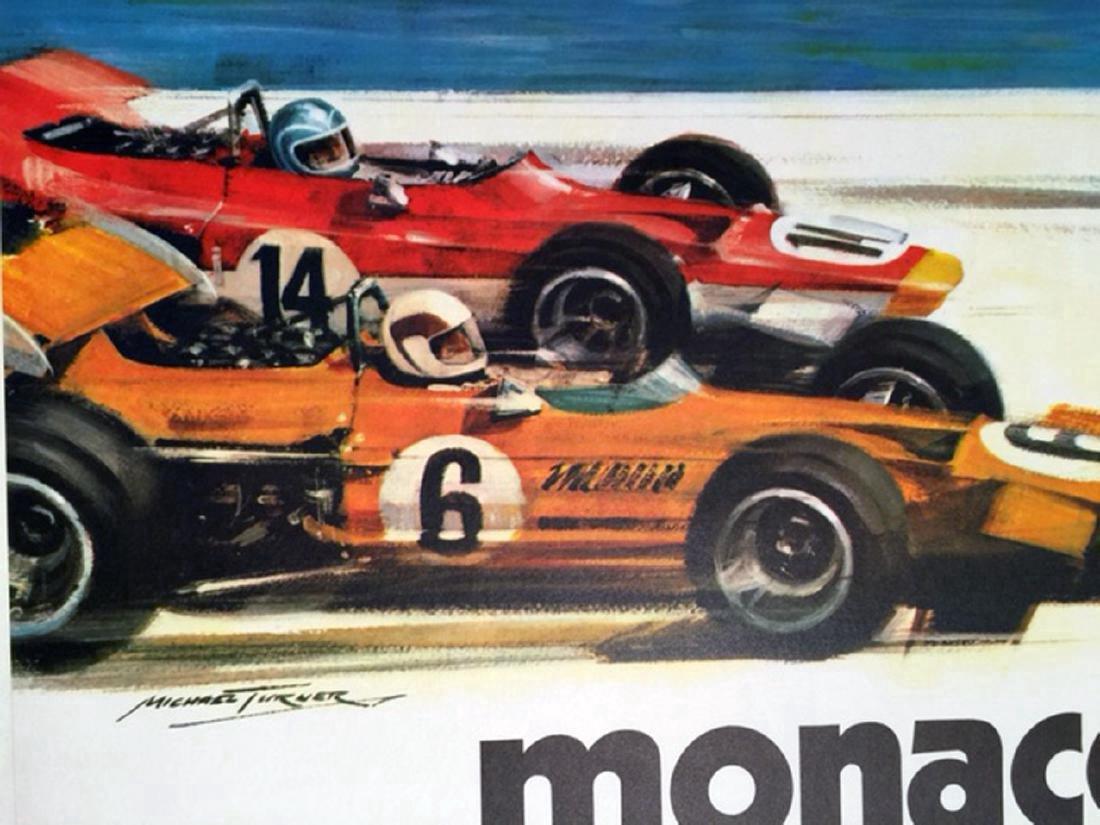 Monaco Grand Prix, 9-10 Mai 1970 Event Poster - 3