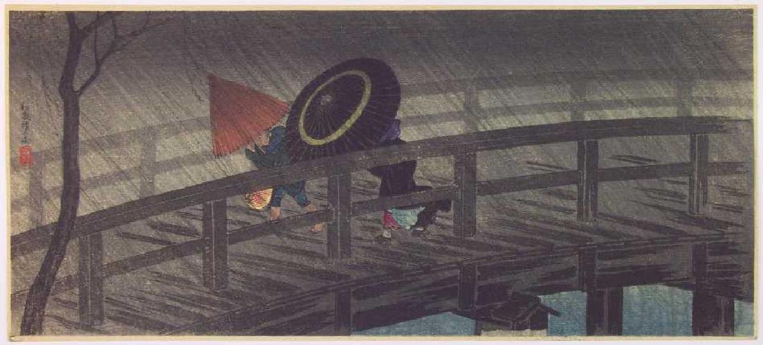 Shotei Hiroaki Takahashi Japanese Woodblock Print
