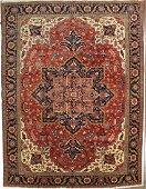 Heriz Wool Rug 11x14.10