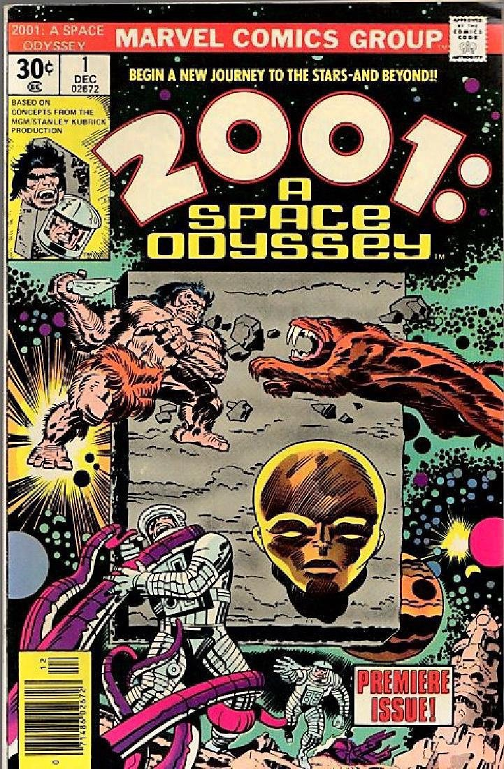 2001: A Space Odyssey. Jack Kirby, Mike Royer