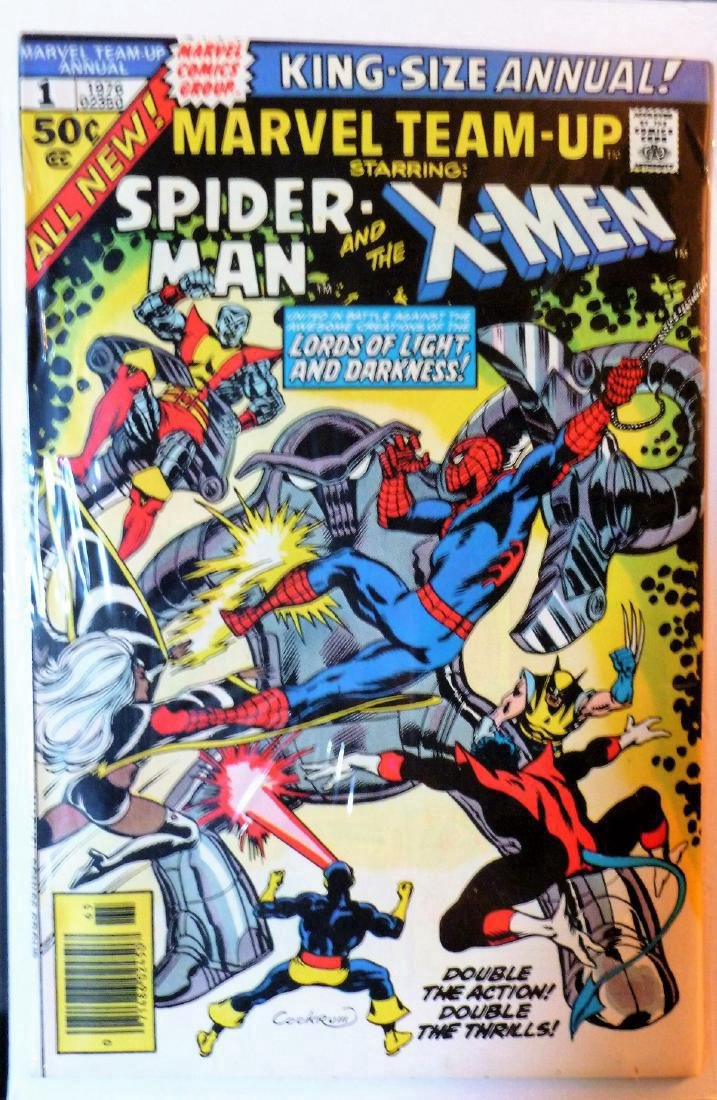 Spider-Man X-Men in The Lords of Light and Darkness